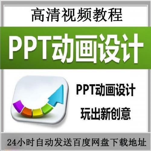 PPT动画设计 幼灯片动态效果创意动画制作培训课教程案例模板素材